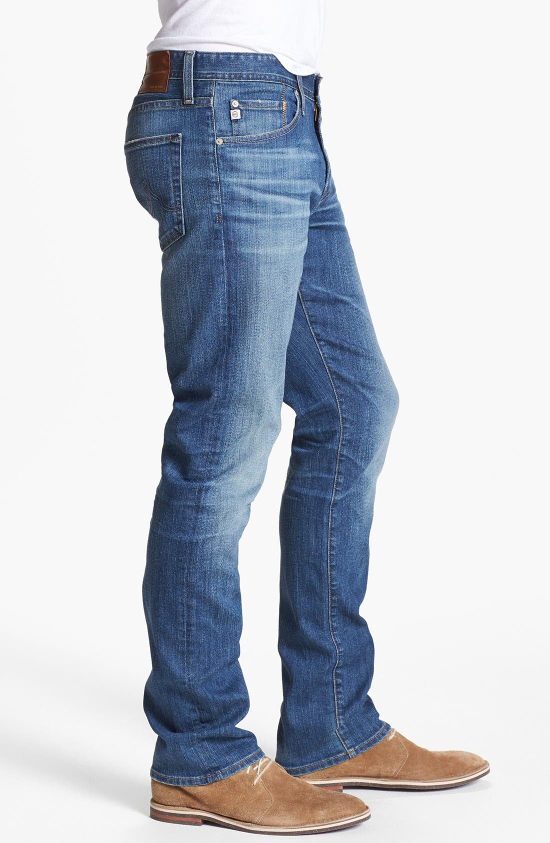 Alternate Image 3  - AG 'Graduate' Tailored Fit Straight Leg Jeans (13 Year Origin)