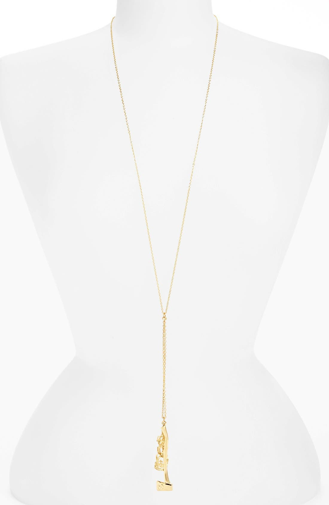 Main Image - Tom Binns 'Charm Offensive' Charm Necklace