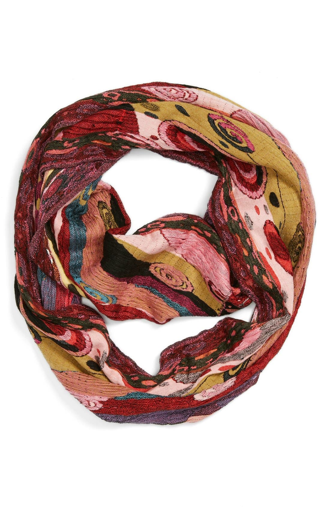 Main Image - Chelsey Art Deco Infinity Scarf