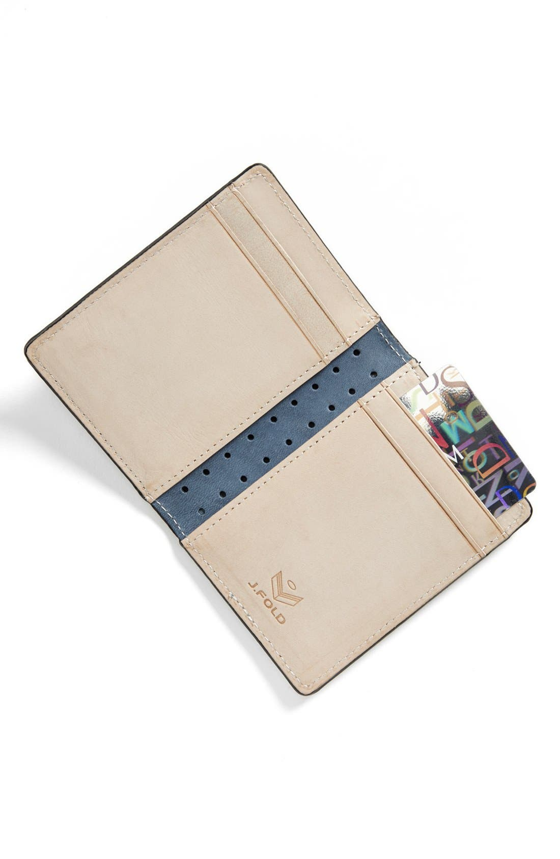 Alternate Image 4  - J Fold 'Altrus' Folding Card Holder