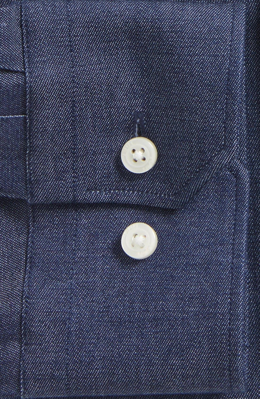 Alternate Image 2  - 1901 Extra Trim Fit Dress Shirt