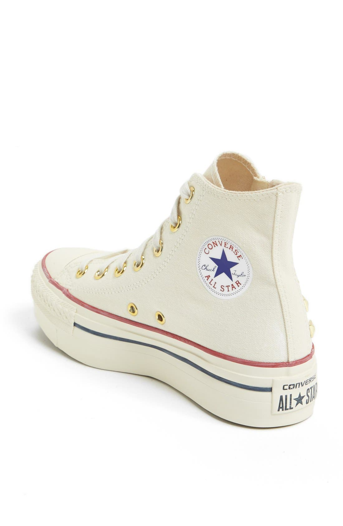 Alternate Image 2  - Converse Chuck Taylor® All Star® Platform High Top Sneaker (Women)