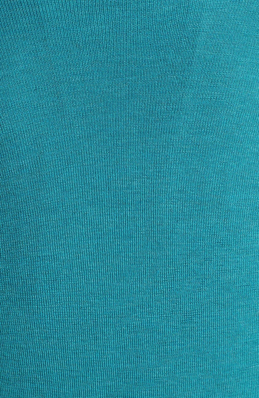 Alternate Image 3  - Eileen Fisher Draped Wool Top (Plus Size)