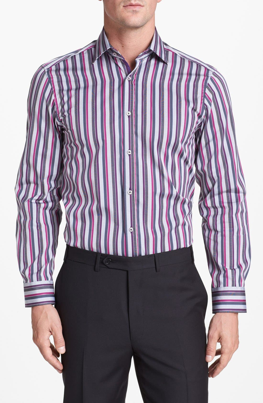 Main Image - Report Collection Trim Fit Sport Shirt