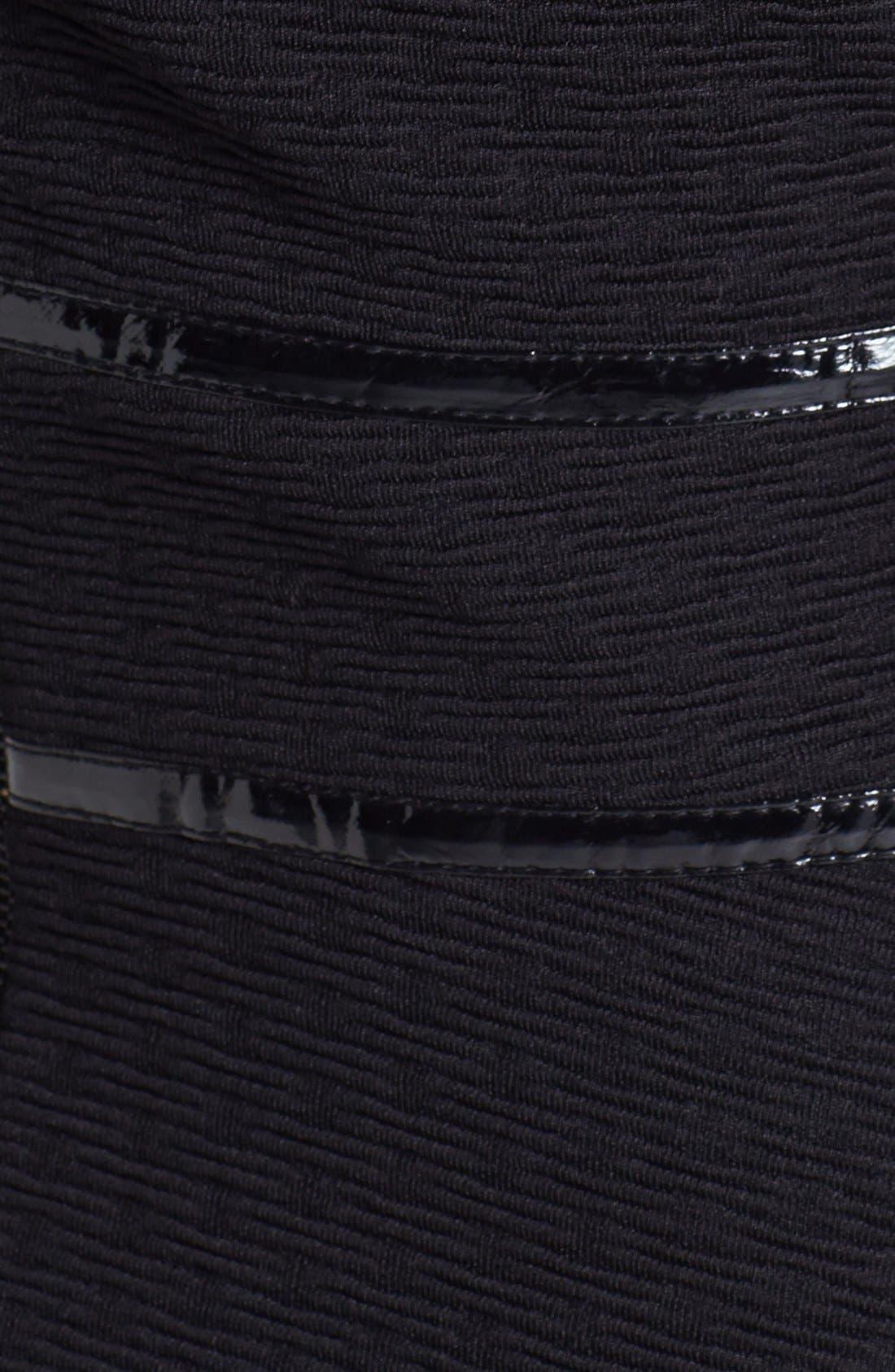 Alternate Image 3  - Taylor Dresses Textured Fit & Flare Dress