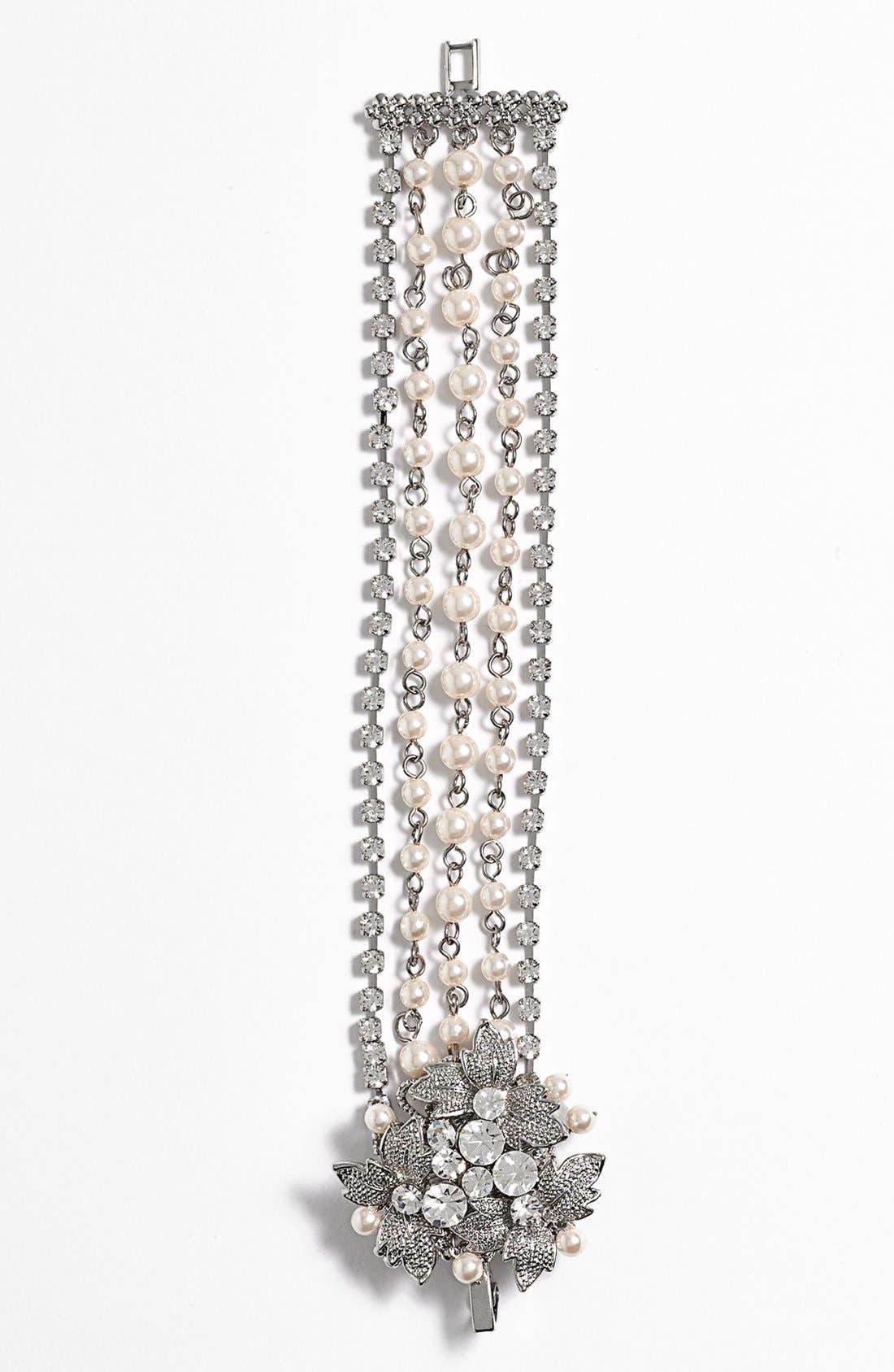 Alternate Image 2  - Nina 'Heathrow' 5-Row Bracelet