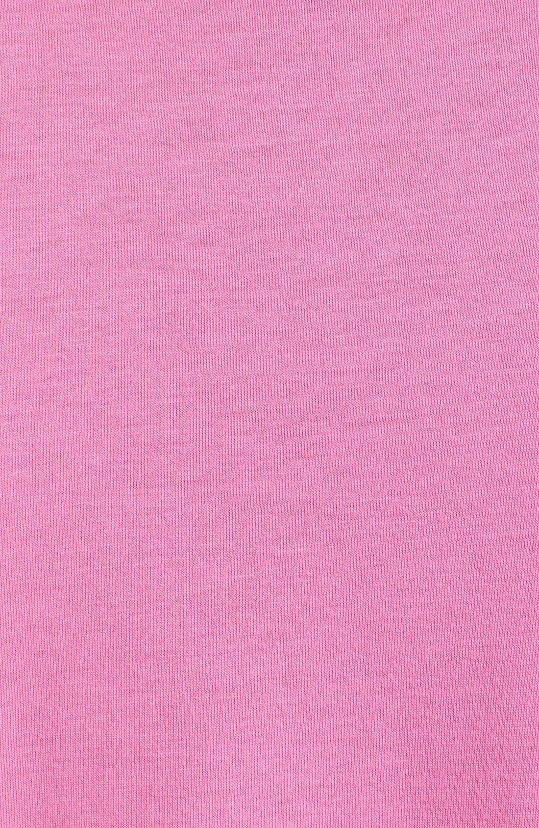Knit Pajamas,                             Alternate thumbnail 3, color,                             Portofino Pink