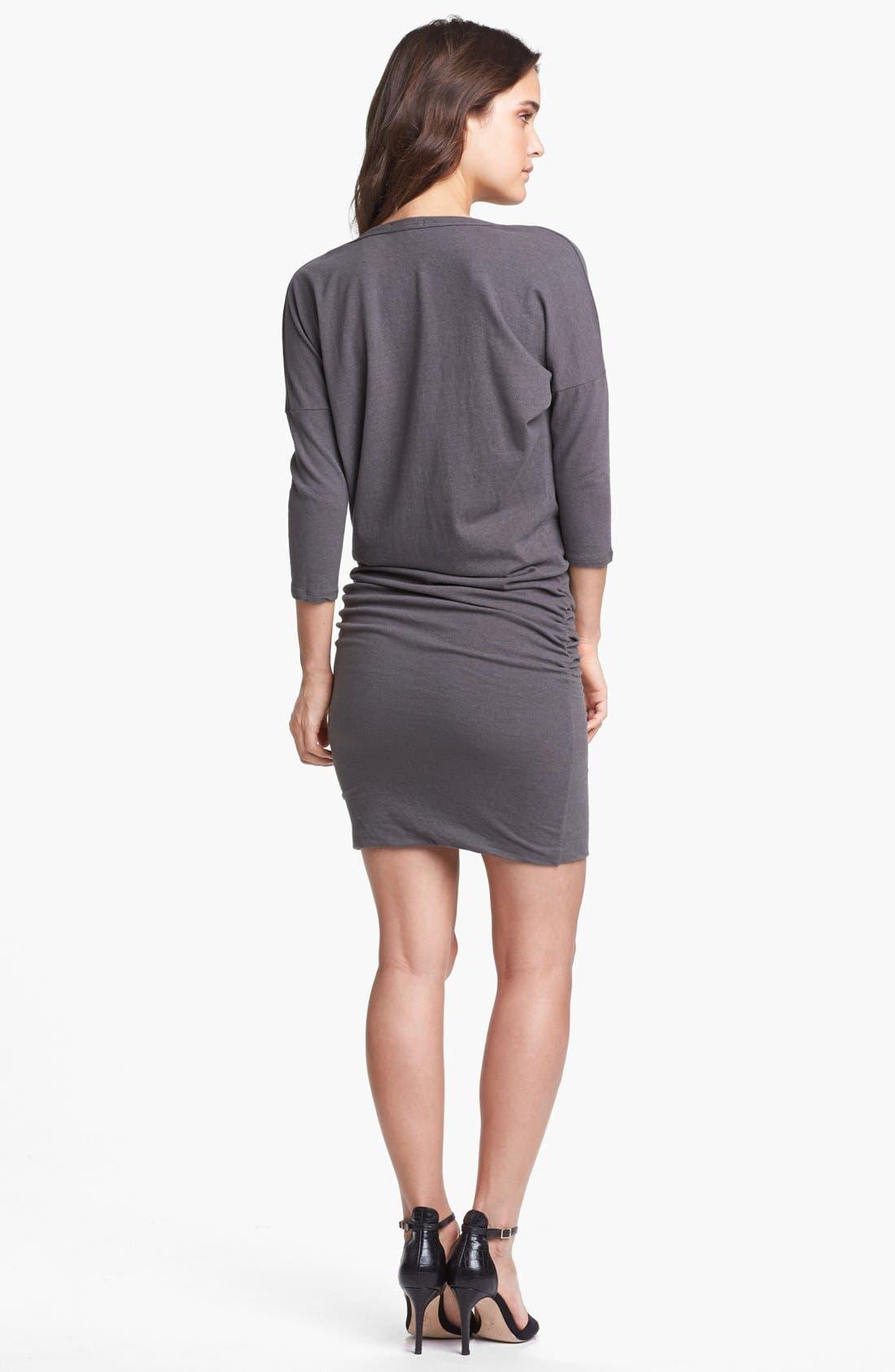 Alternate Image 2  - James Perse Cowl Neck Dolman Sleeve Dress