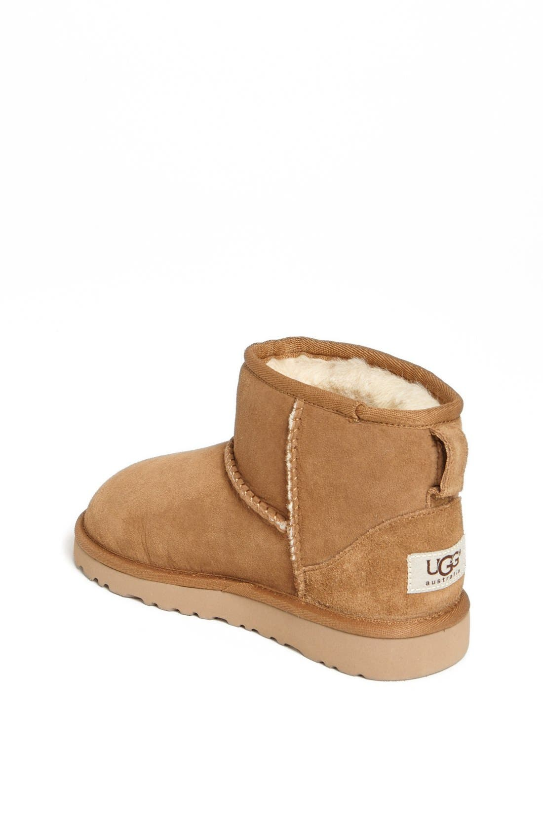 Alternate Image 2  - UGG® Australia 'Classic Mini' Boot (Little Kid & Big Kid)