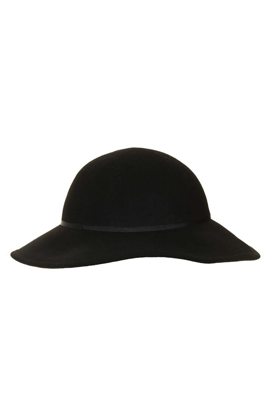 Alternate Image 1 Selected - Topshop 'Beekeeper' Felt Hat