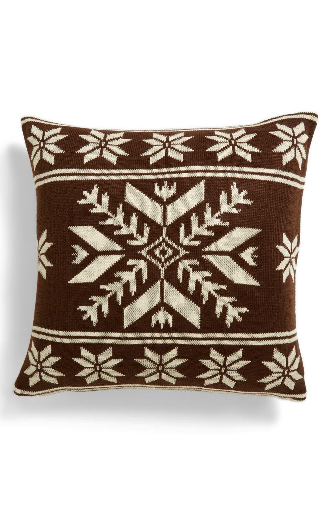 Alternate Image 1 Selected - Kennebunk Home 'Snowflake' Pillow