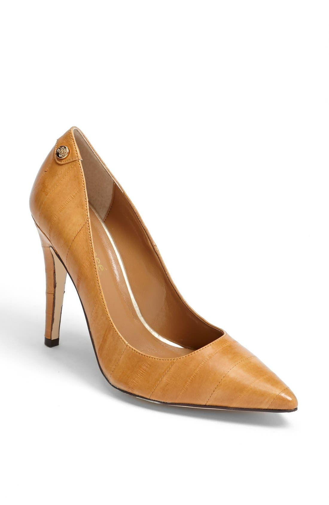 Alternate Image 1 Selected - J. Reneé 'Bezel' Eel Skin Pump