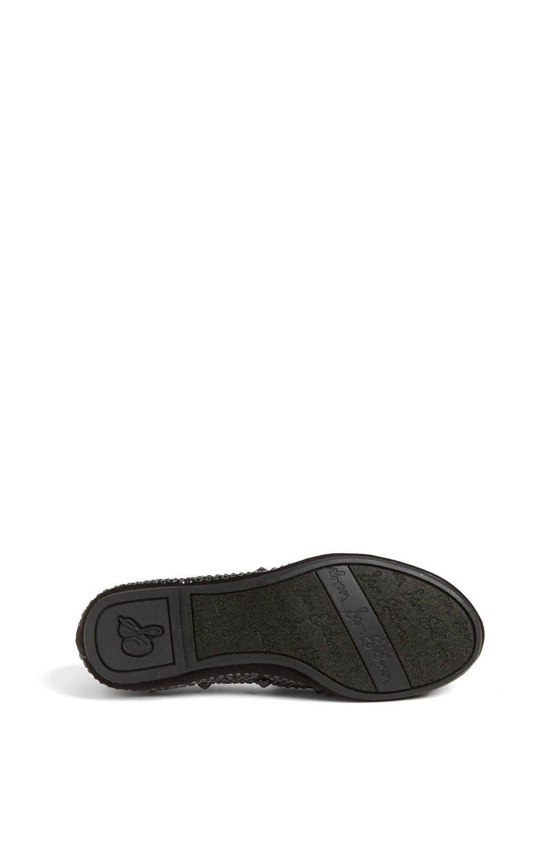 Alternate Image 4  - Sam Edelman 'Adena' Flat (Toddler, Little Kid & Big Kid)
