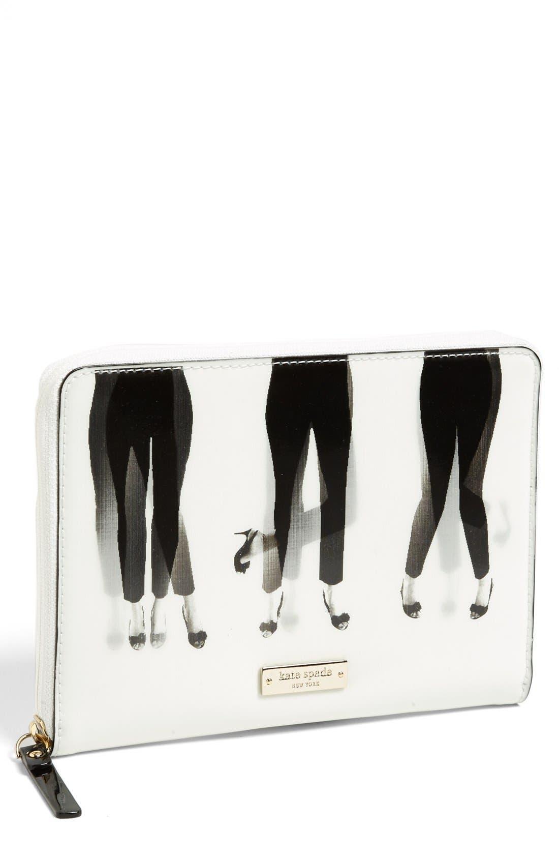 Main Image - kate spade new york 'dancing lenticular' iPad mini folio