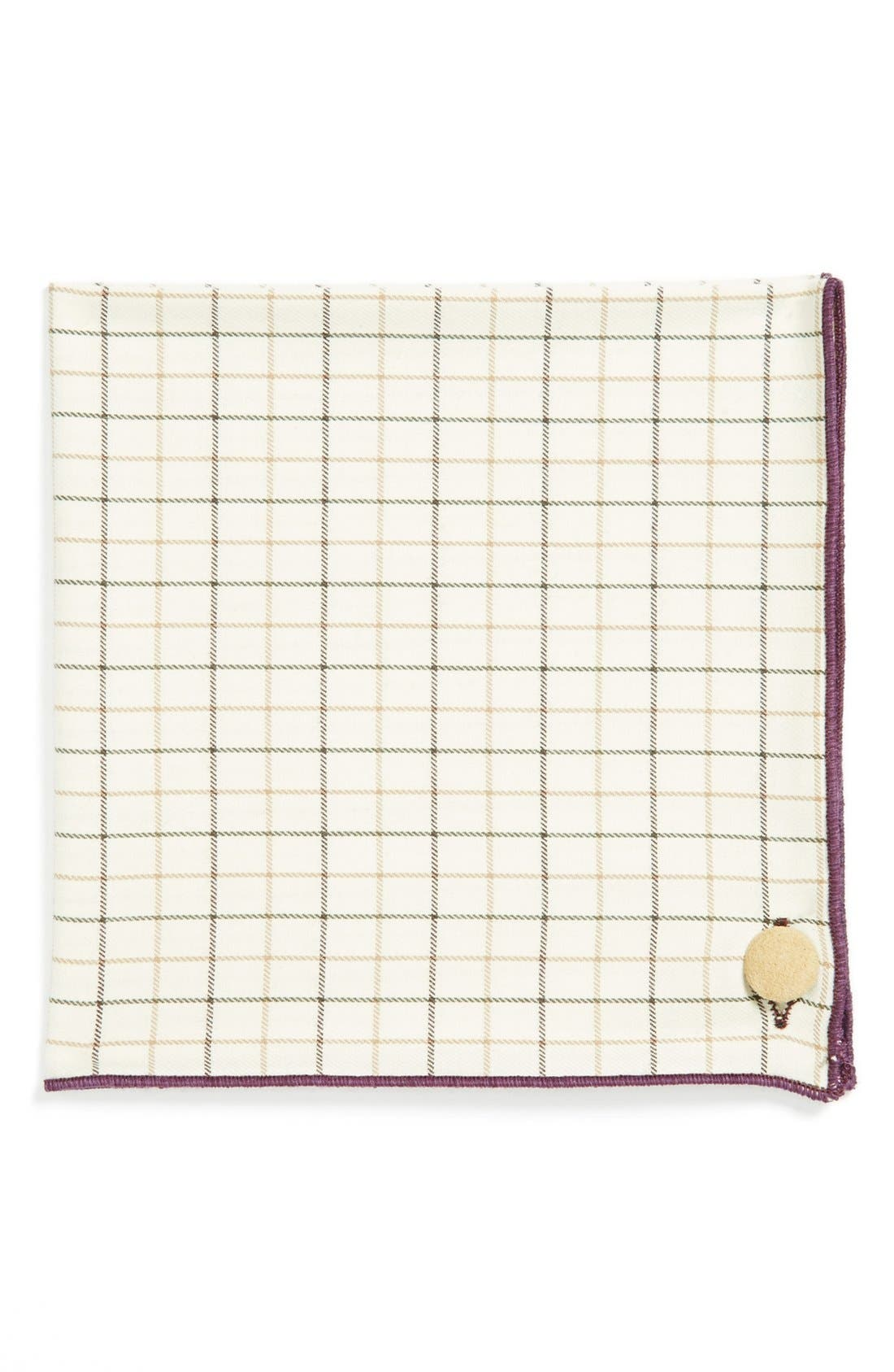 Main Image - Armstrong & Wilson Cotton Pocket Square