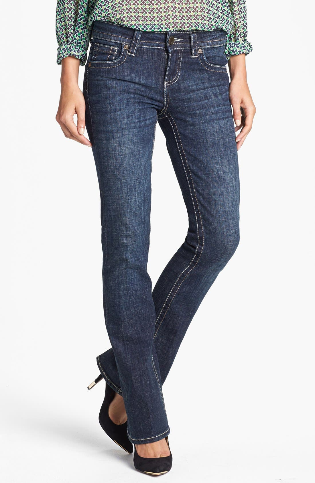 Alternate Image 1 Selected - KUT from the Kloth 'Natalie' Bootcut Jeans (Regular & Tall) (Care)