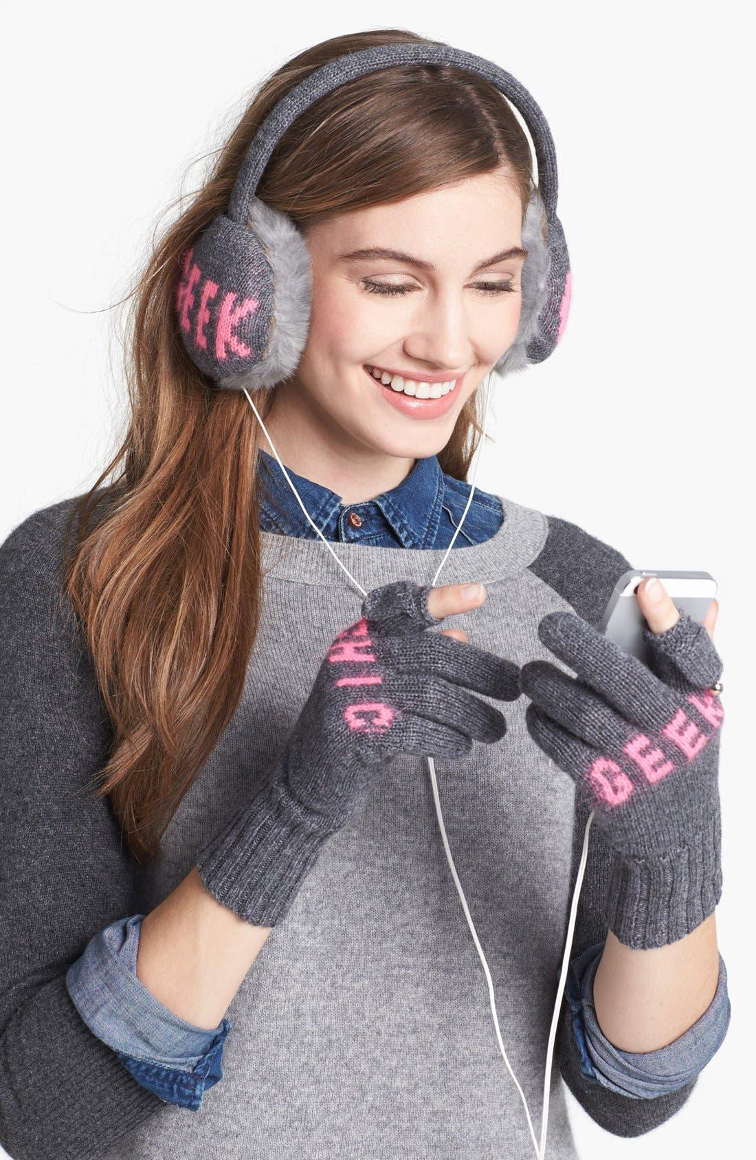 Alternate Image 1 Selected - kate spade new york 'geek chic' earmuffs