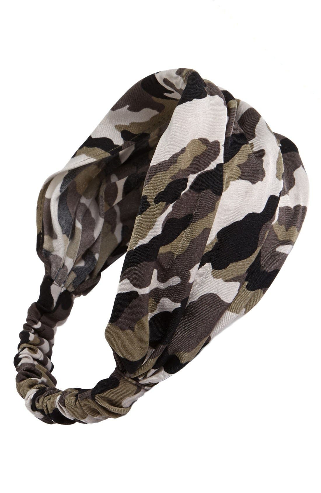 Alternate Image 1 Selected - Cara Camo Head Wrap