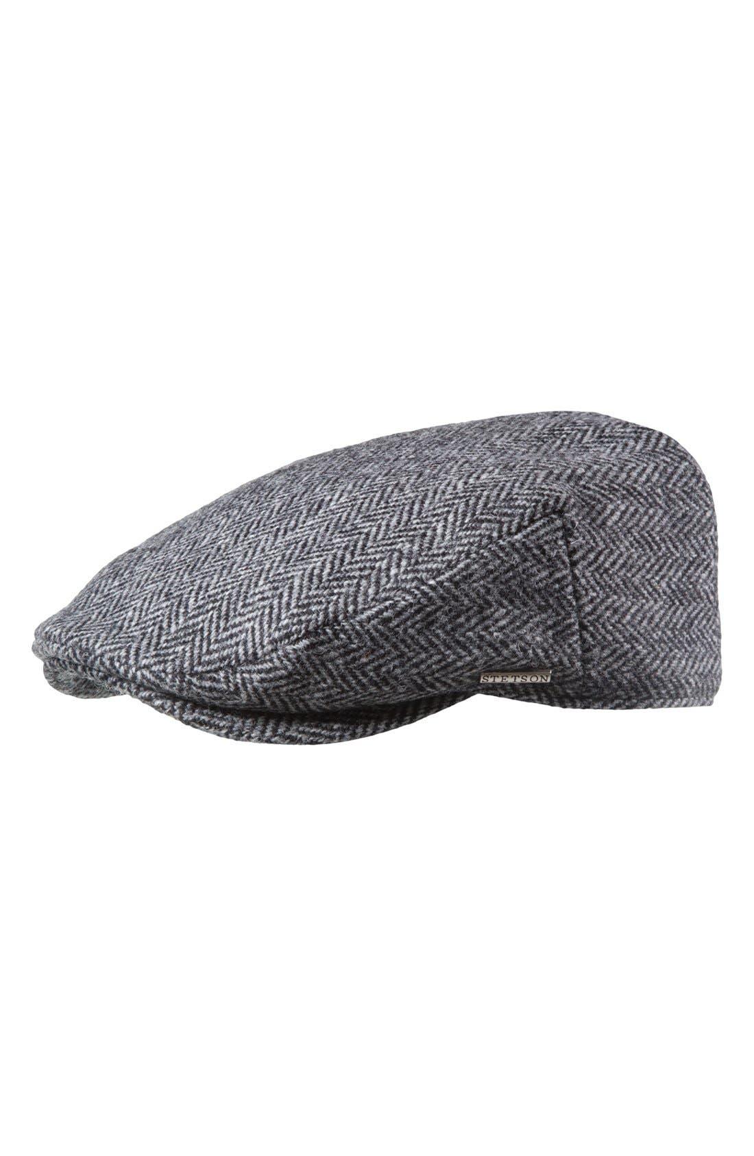 Main Image - Stetson Harris Tweed Driving Cap