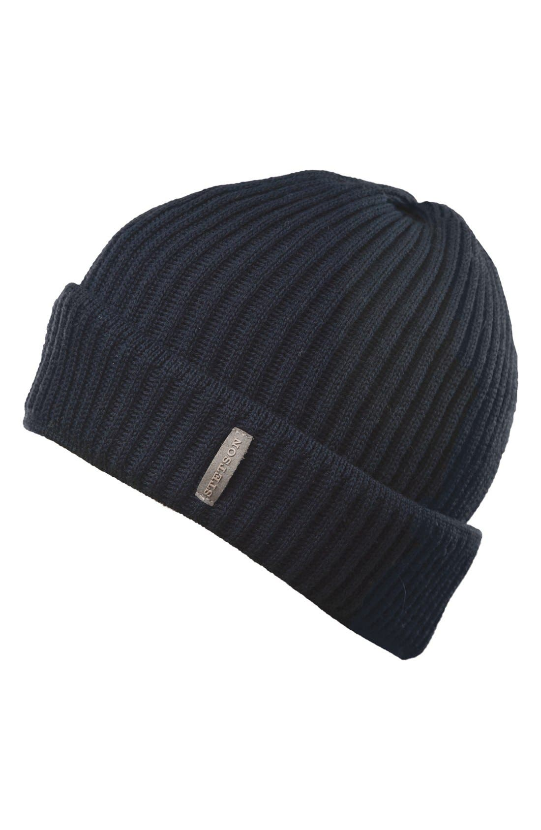 Alternate Image 1 Selected - Stetson 'Watch' Wool Beanie