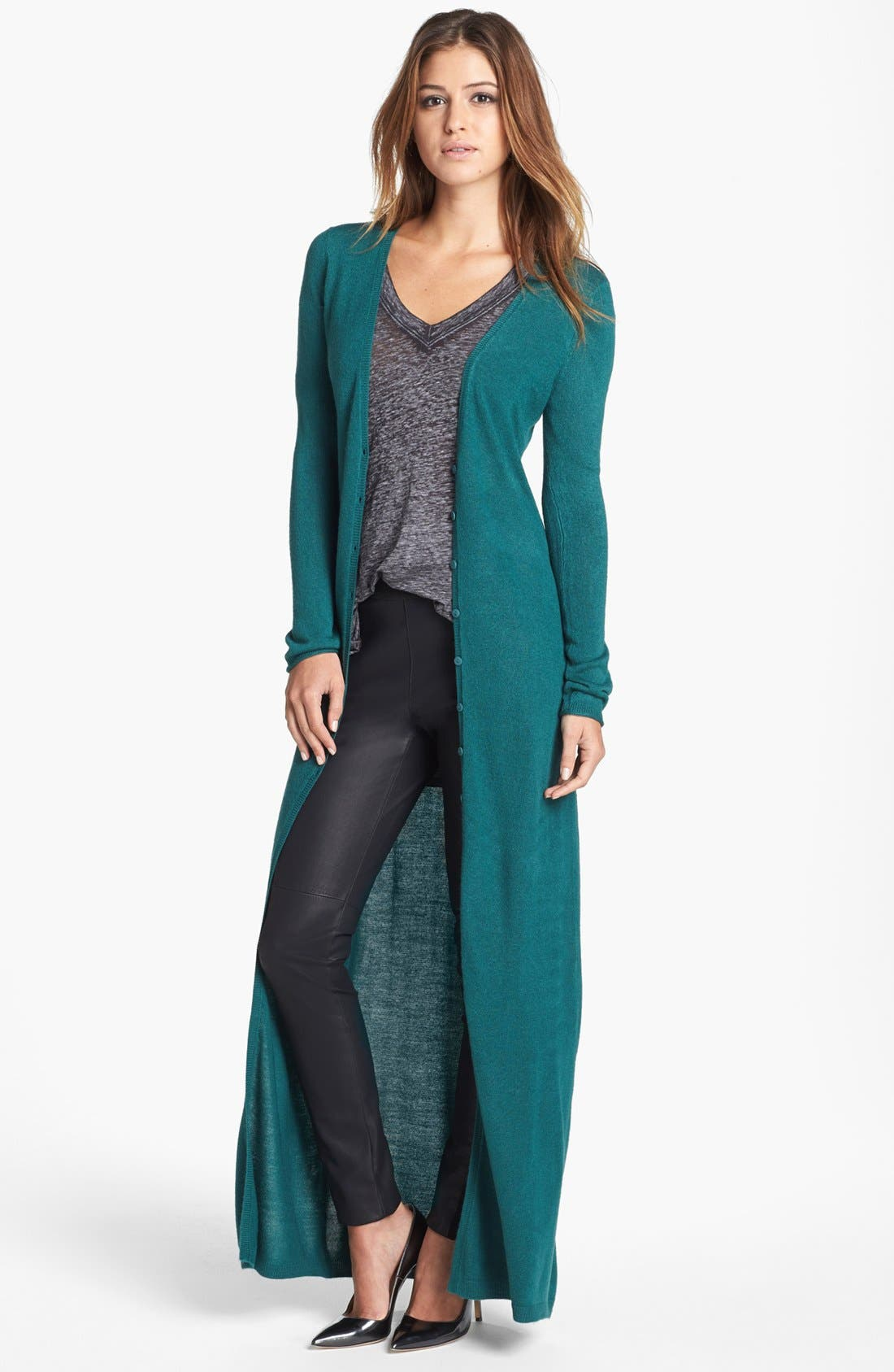 Alternate Image 1 Selected - BB Dakota 'Ragan' Long Cardigan