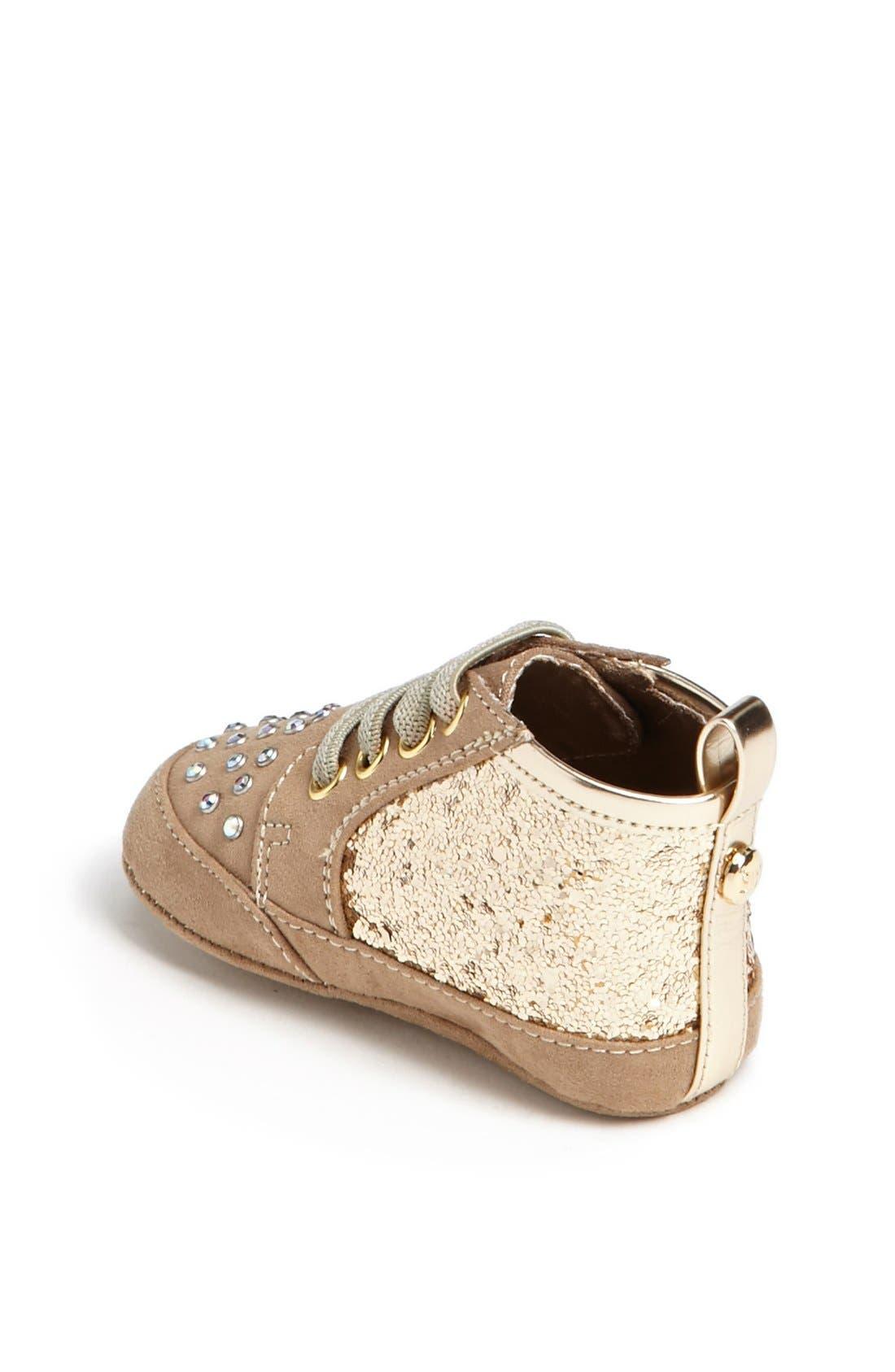 Alternate Image 2  - Stuart Weitzman 'Vance' Crib Shoe (Baby Girls)