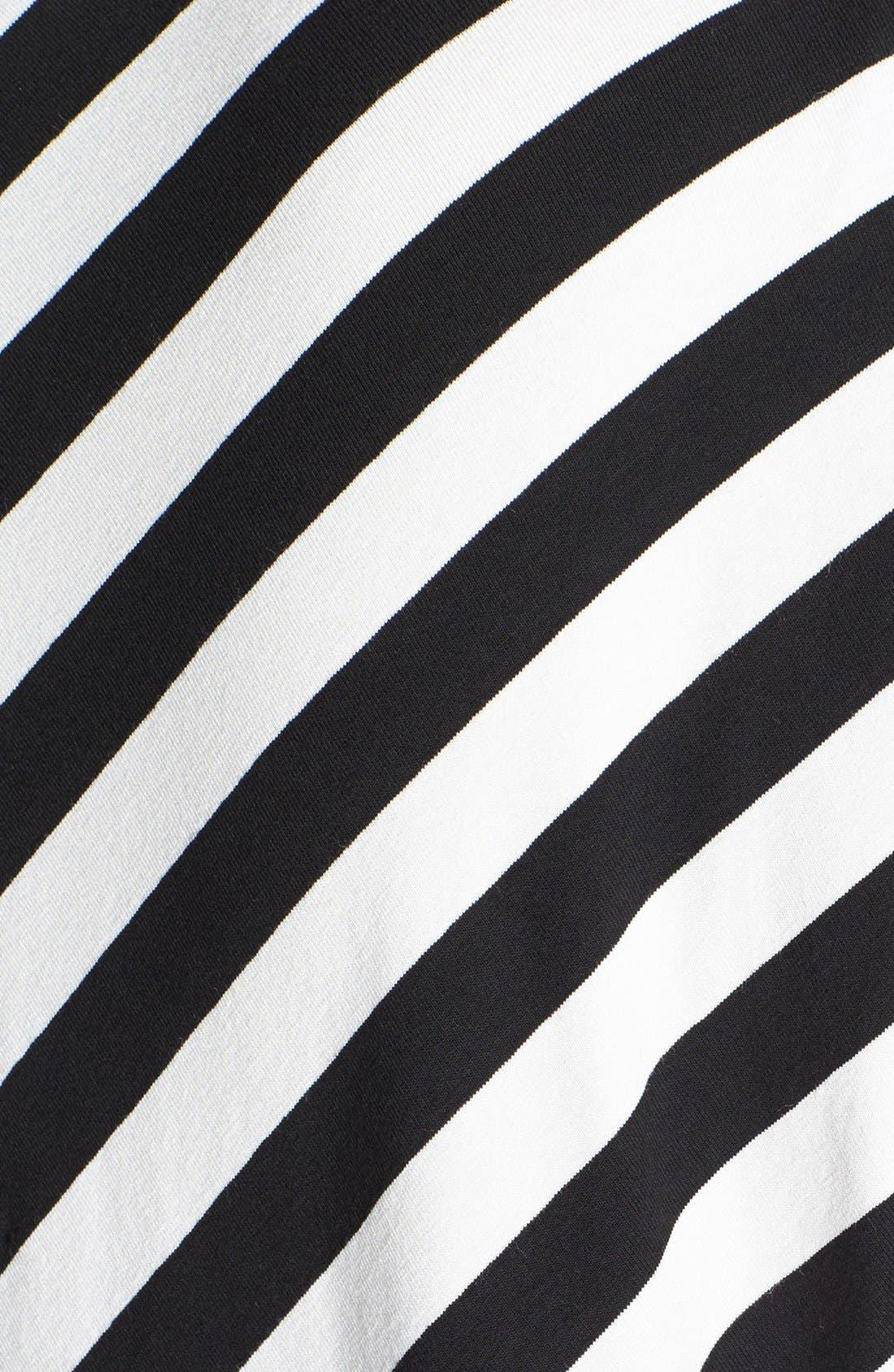 Alternate Image 3  - Evans Chevron Stripe Top (Plus Size)