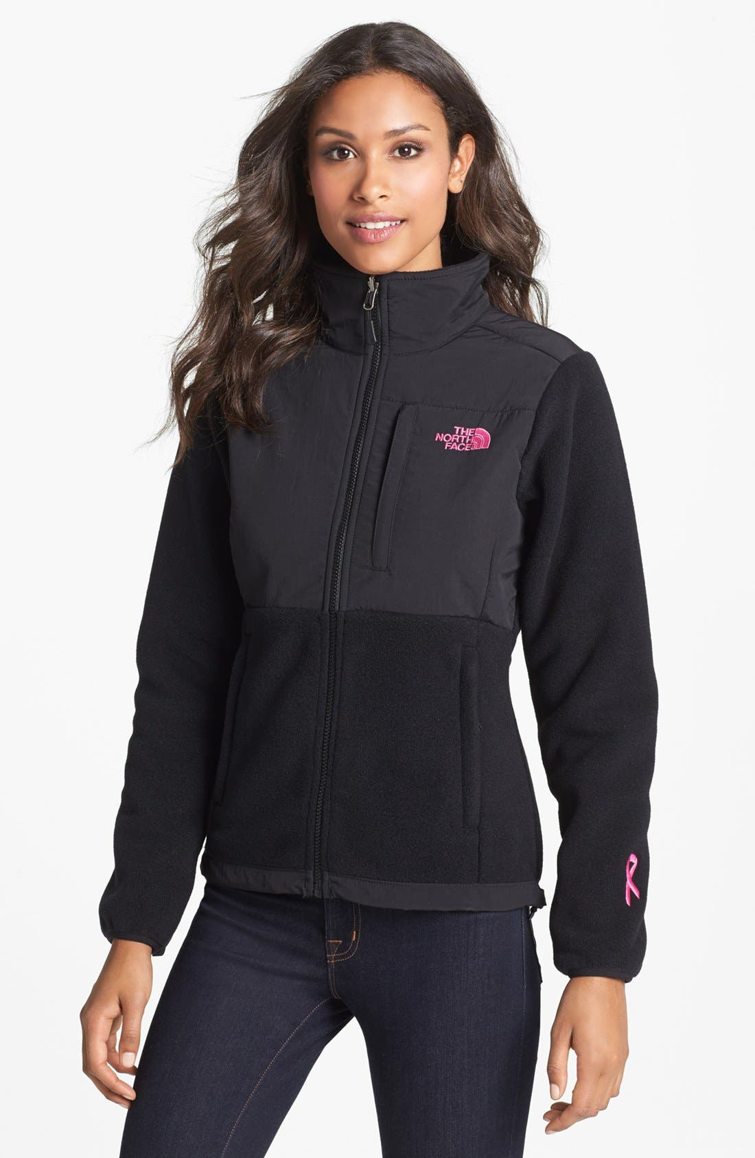 Main Image - The North Face 'Denali - Pink Ribbon' Jacket