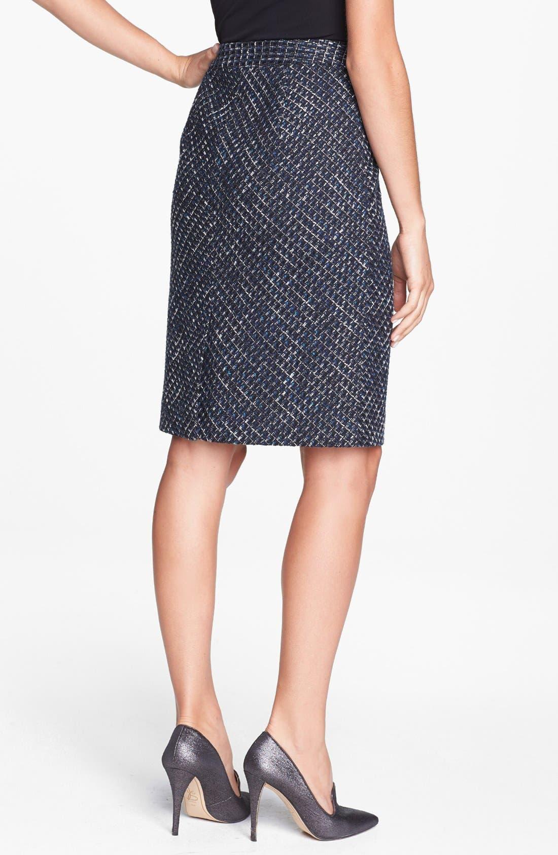 Alternate Image 2  - Classiques Entier® 'Ambra Weave' Skirt