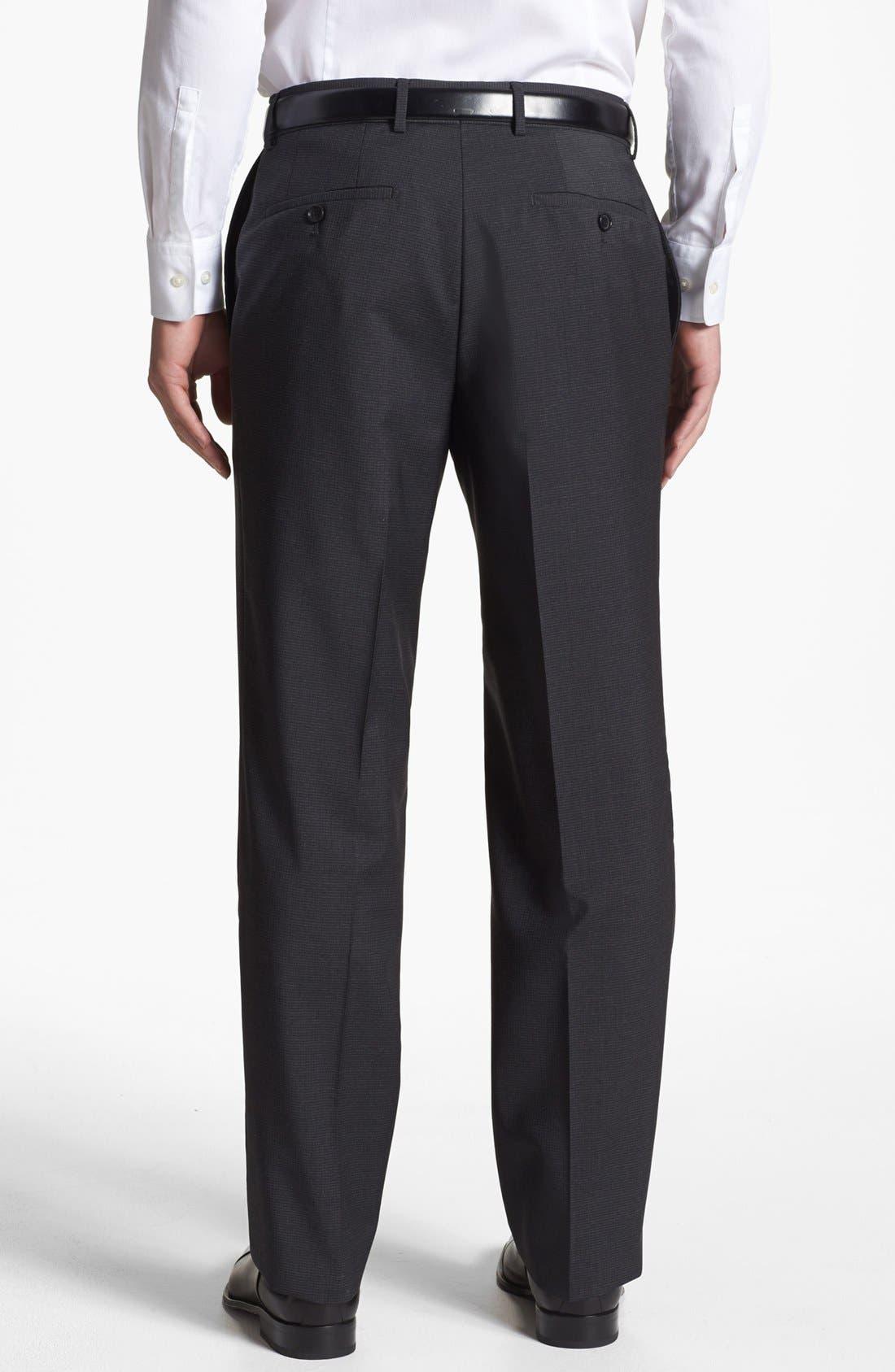 Alternate Image 2  - BOSS HUGO BOSS 'Jeffrey US' Flat Front Trousers
