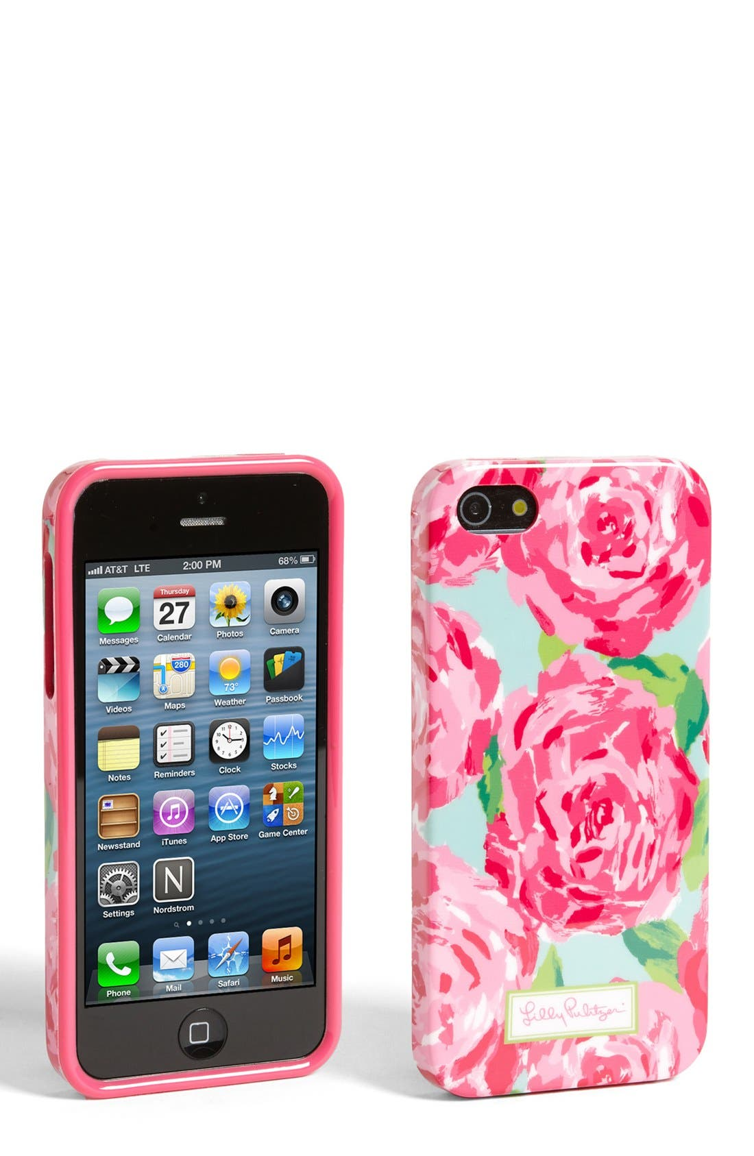 Alternate Image 1 Selected - Lilly Pulitzer® 'First Impression' iPhone 5 Case