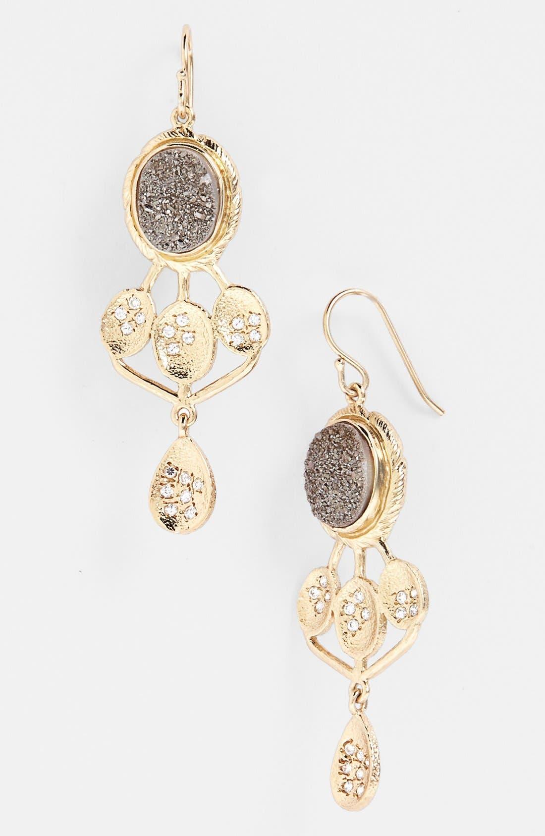 Alternate Image 1 Selected - Melinda Maria 'Julian' Drusy Drop Earrings
