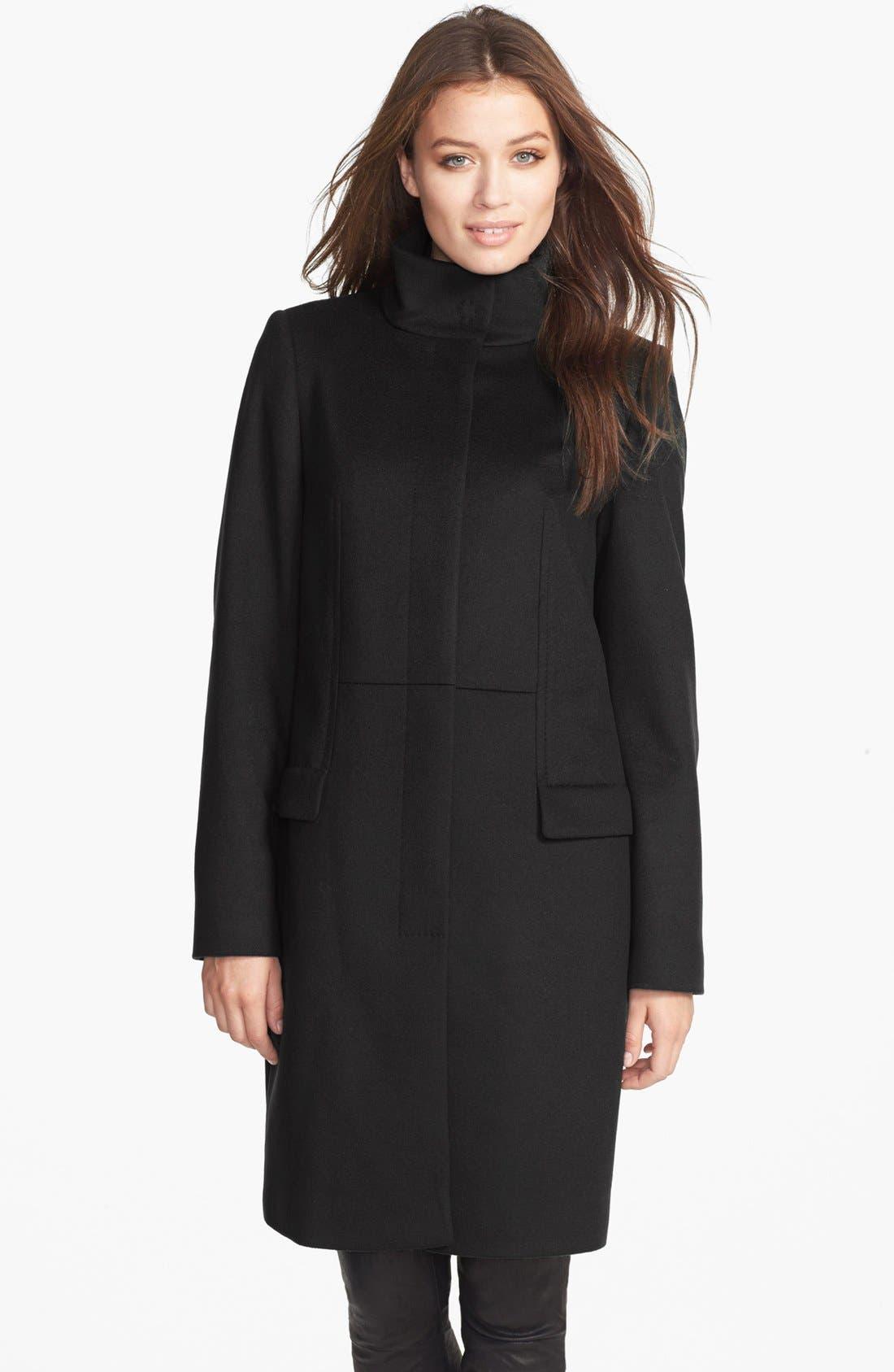 Alternate Image 1 Selected - BOSS HUGO BOSS 'Celira' Wool & Cashmere Coat