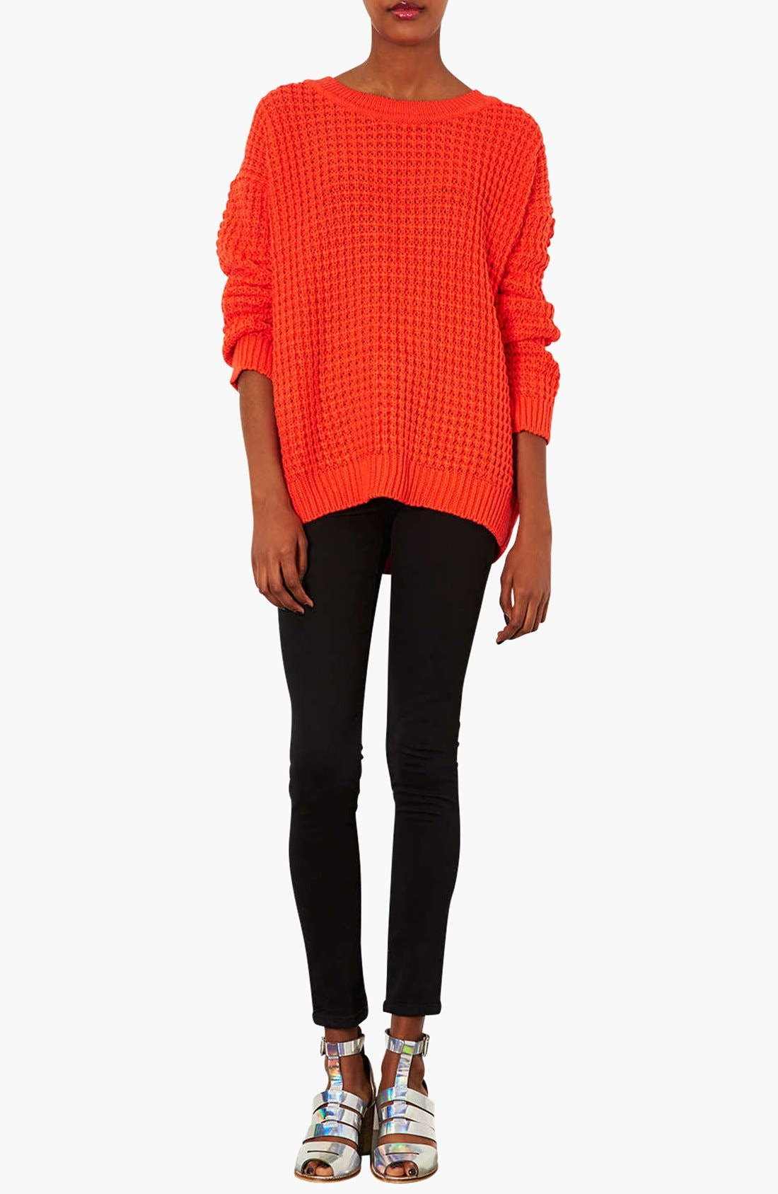 Alternate Image 4  - Topshop Moto 'Joni' High Rise Skinny Jeans (Regular & Short)