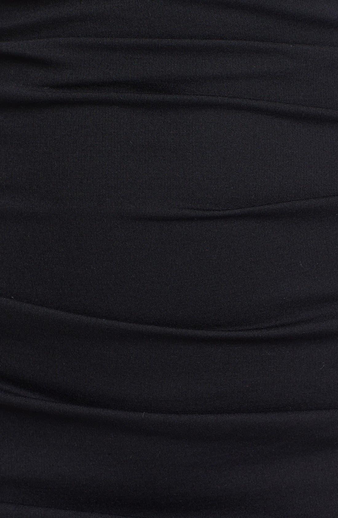 Alternate Image 3  - Nicole Miller Off Shoulder Ponte Knit Sheath Dress