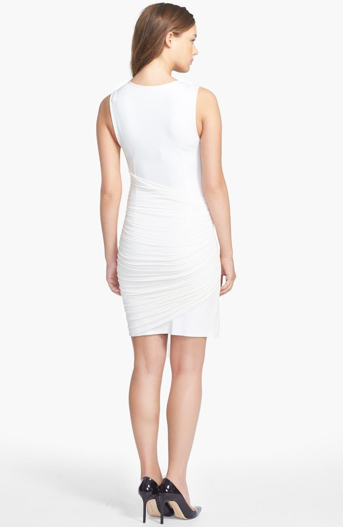 Alternate Image 2  - B44 Dressed by Bailey 44 'Quasar' Draped Ponte Knit Dress