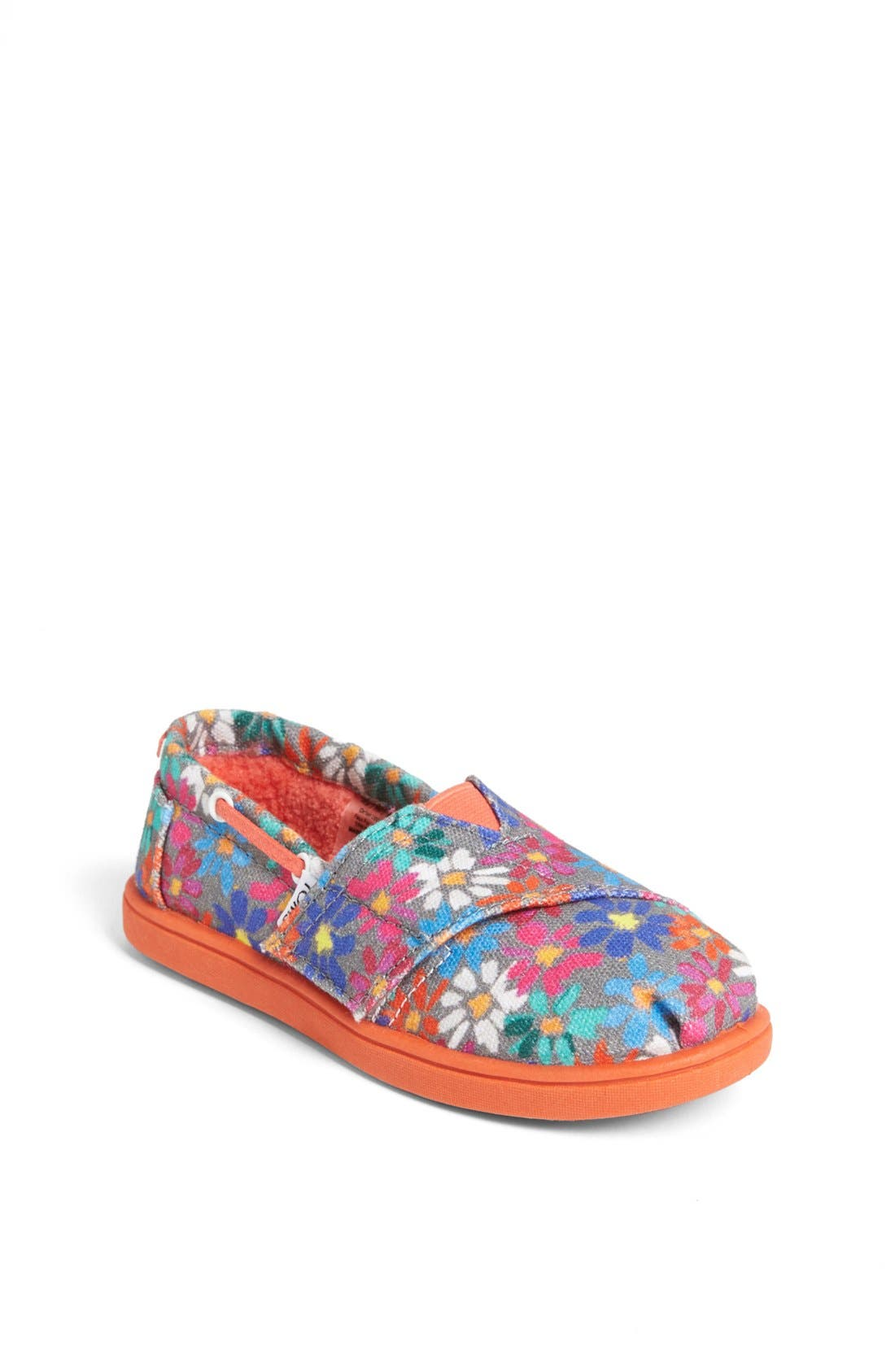 Alternate Image 1 Selected - TOMS 'Bimini Alpargata - Tiny' Slip-On (Baby, Walker & Toddler)