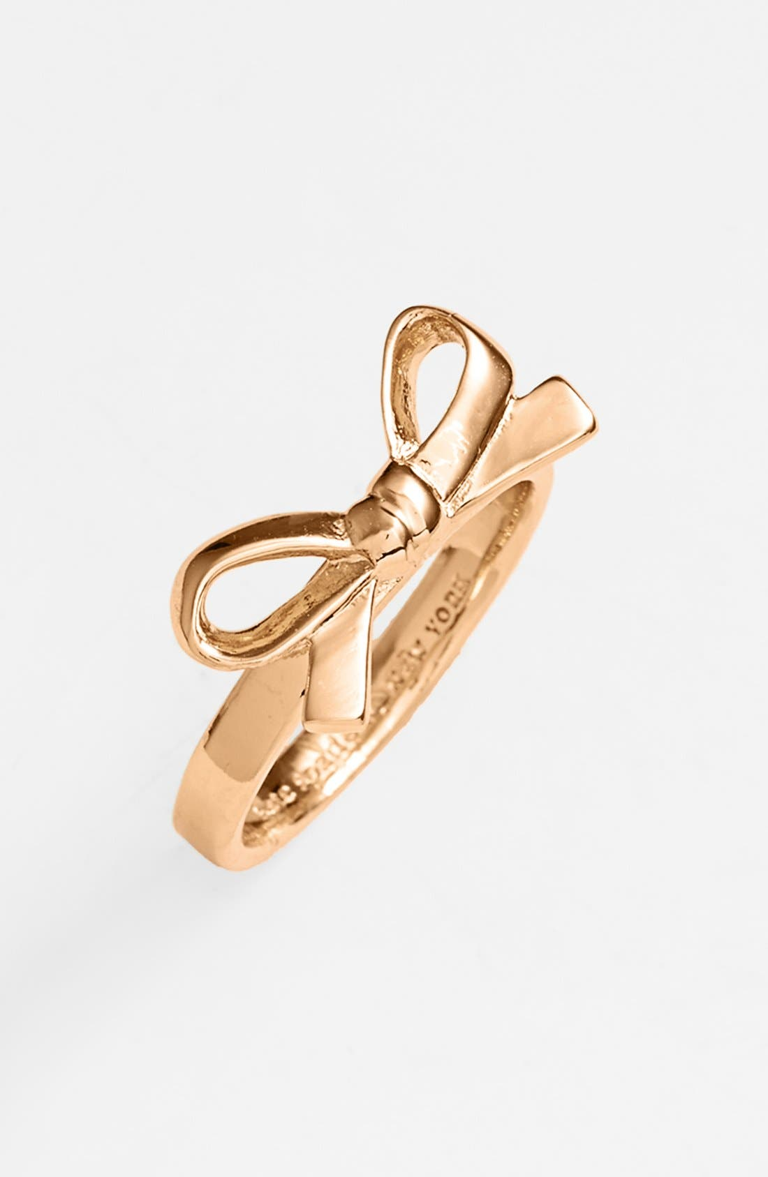 Alternate Image 1 Selected - kate spade new york 'skinny mini' bow ring