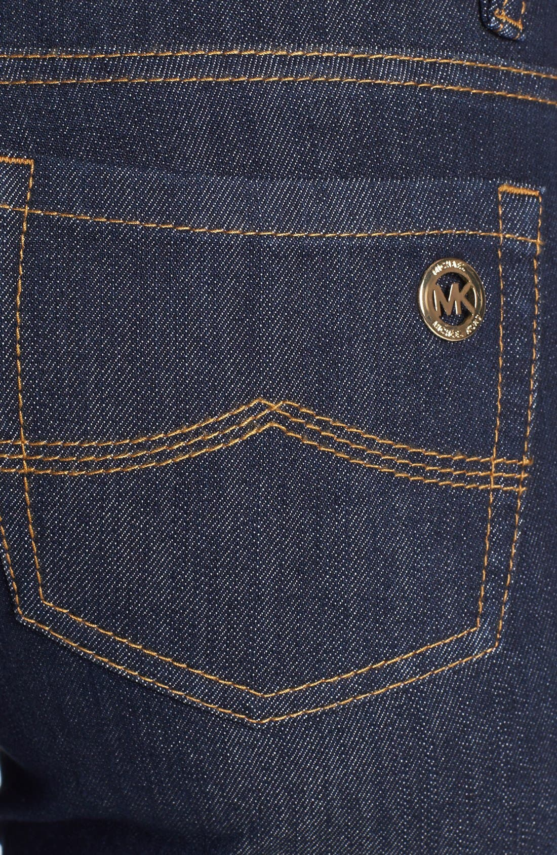 Alternate Image 3  - MICHAEL Michael Kors 'Sausalito' Skinny Jeans (Premiere Indigo)