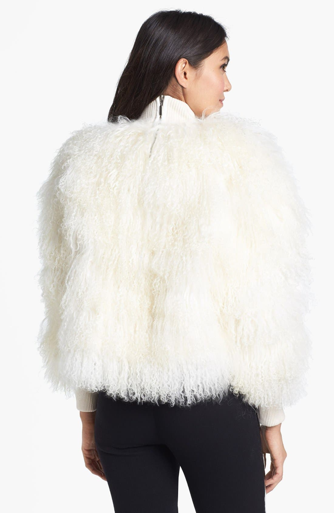 Alternate Image 3  - Topshop Unique Genuine Lamb Shearling Sweater