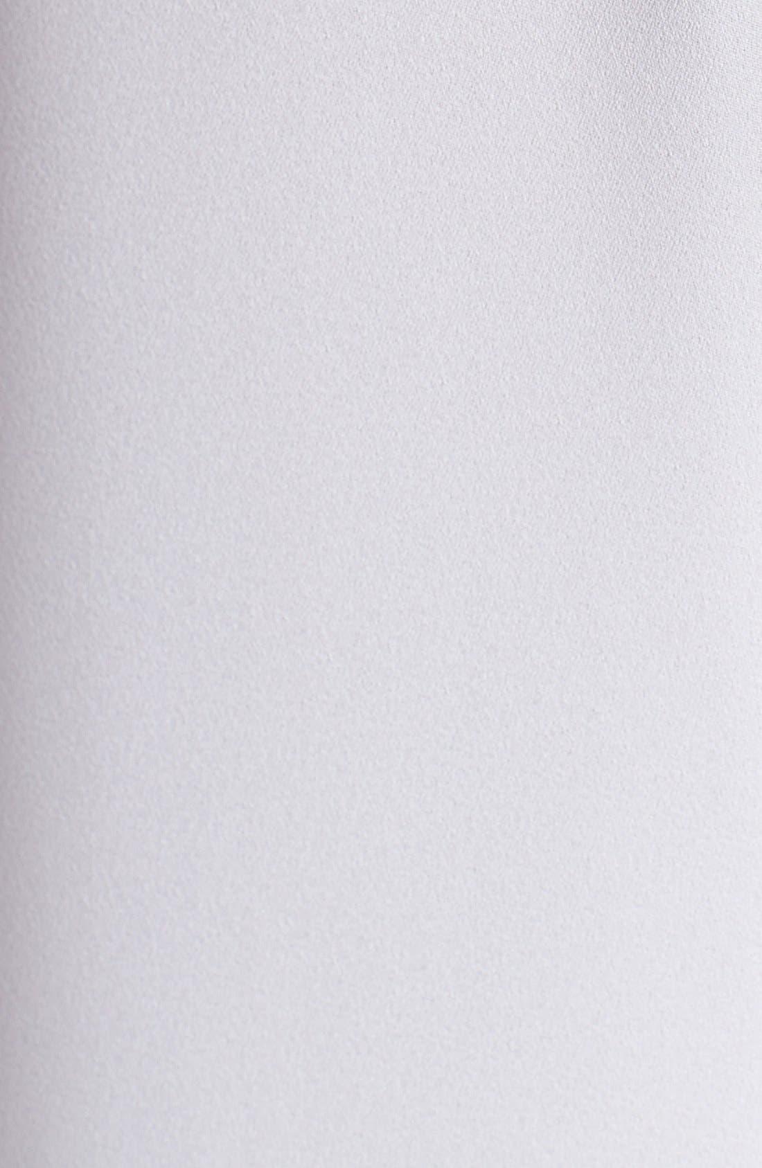 Alternate Image 3  - Vince Camuto Woven Back Embellished Tee