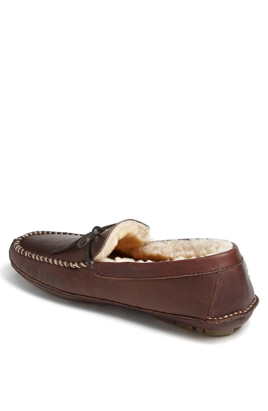 'Polson' Slipper,                             Alternate thumbnail 2, color,                             Bourbon Bison
