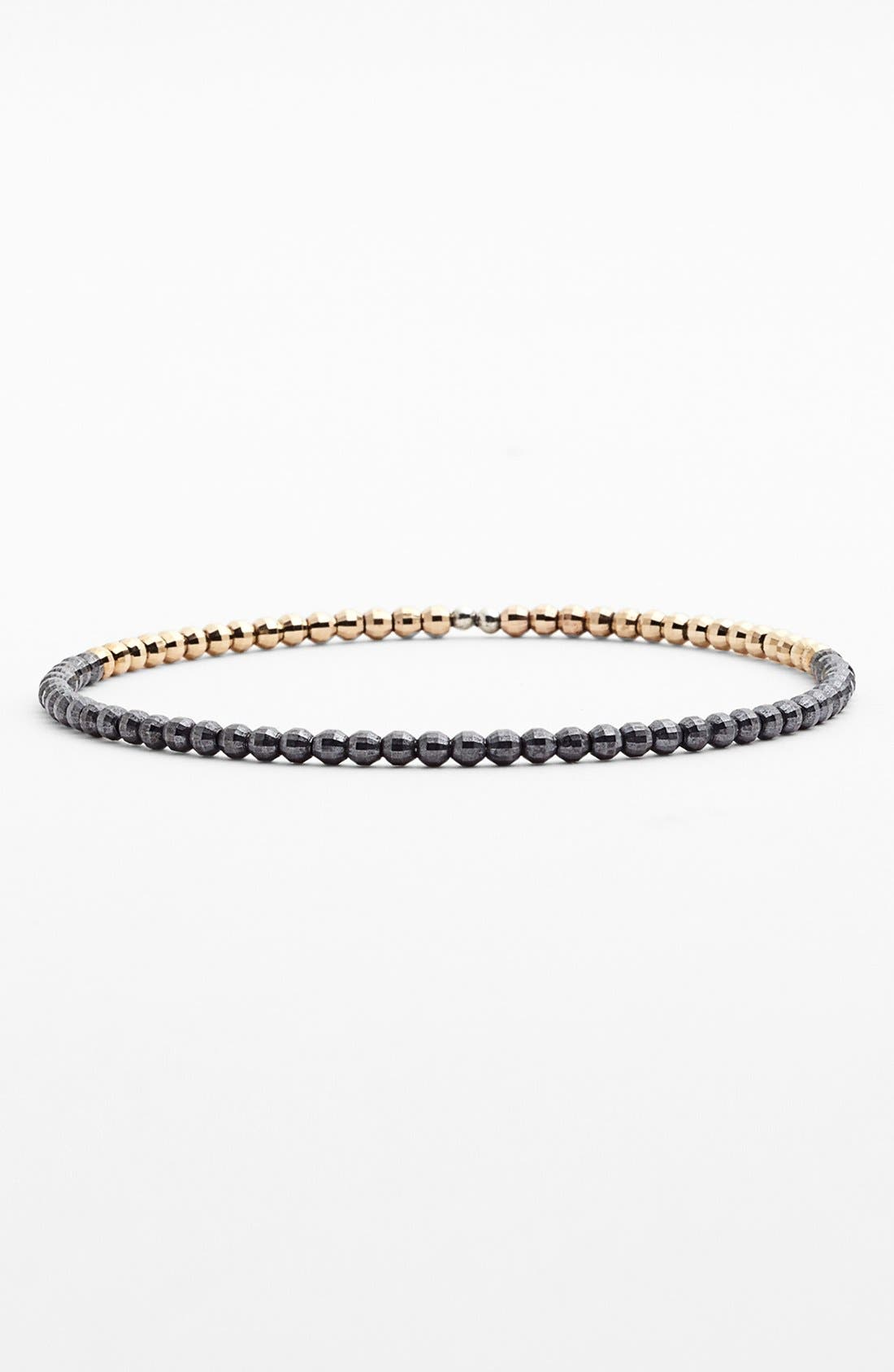 Alternate Image 1 Selected - Mizuki 'Cut Beads' Beaded Bangle