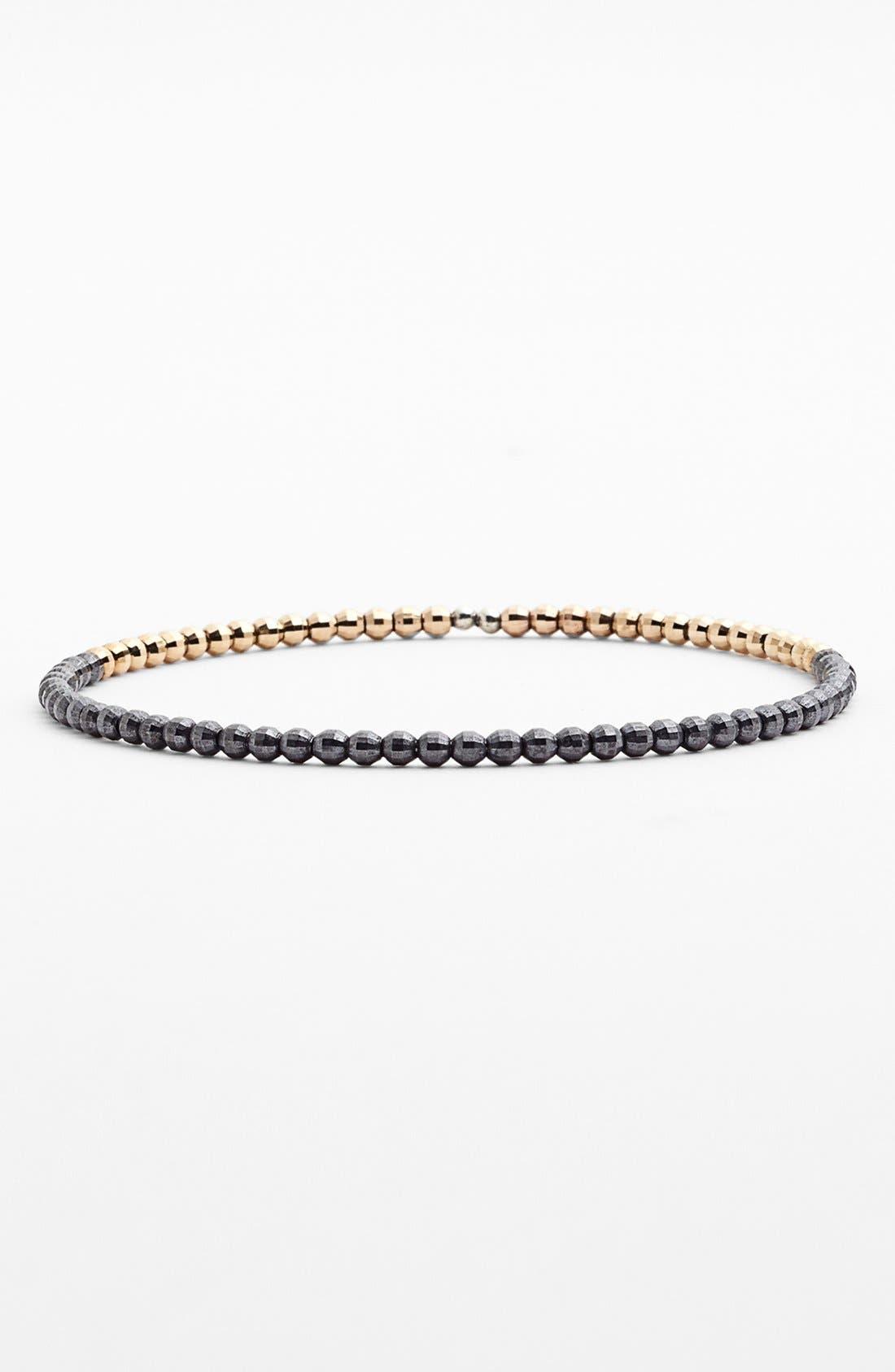 Main Image - Mizuki 'Cut Beads' Beaded Bangle