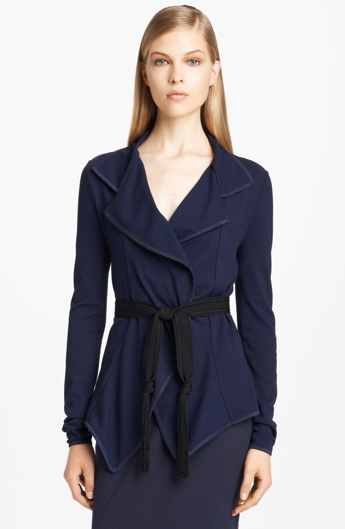 Main Image - Donna Karan Collection Lightweight Structured Jersey Jacket