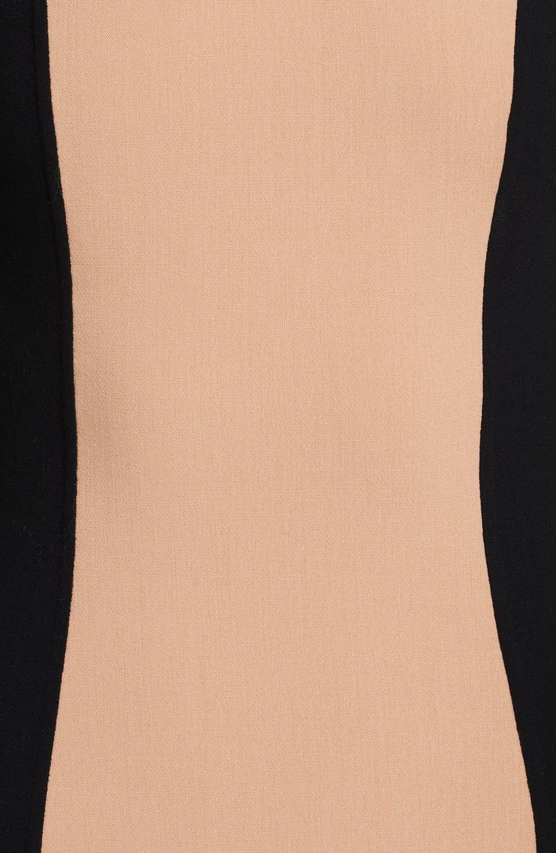 Alternate Image 2  - Michael Kors Colorblock Crepe Dress