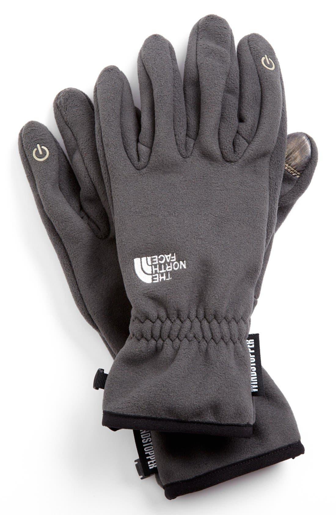 Main Image - The North Face 'E-Tip Windstopper™' Gloves (Men)