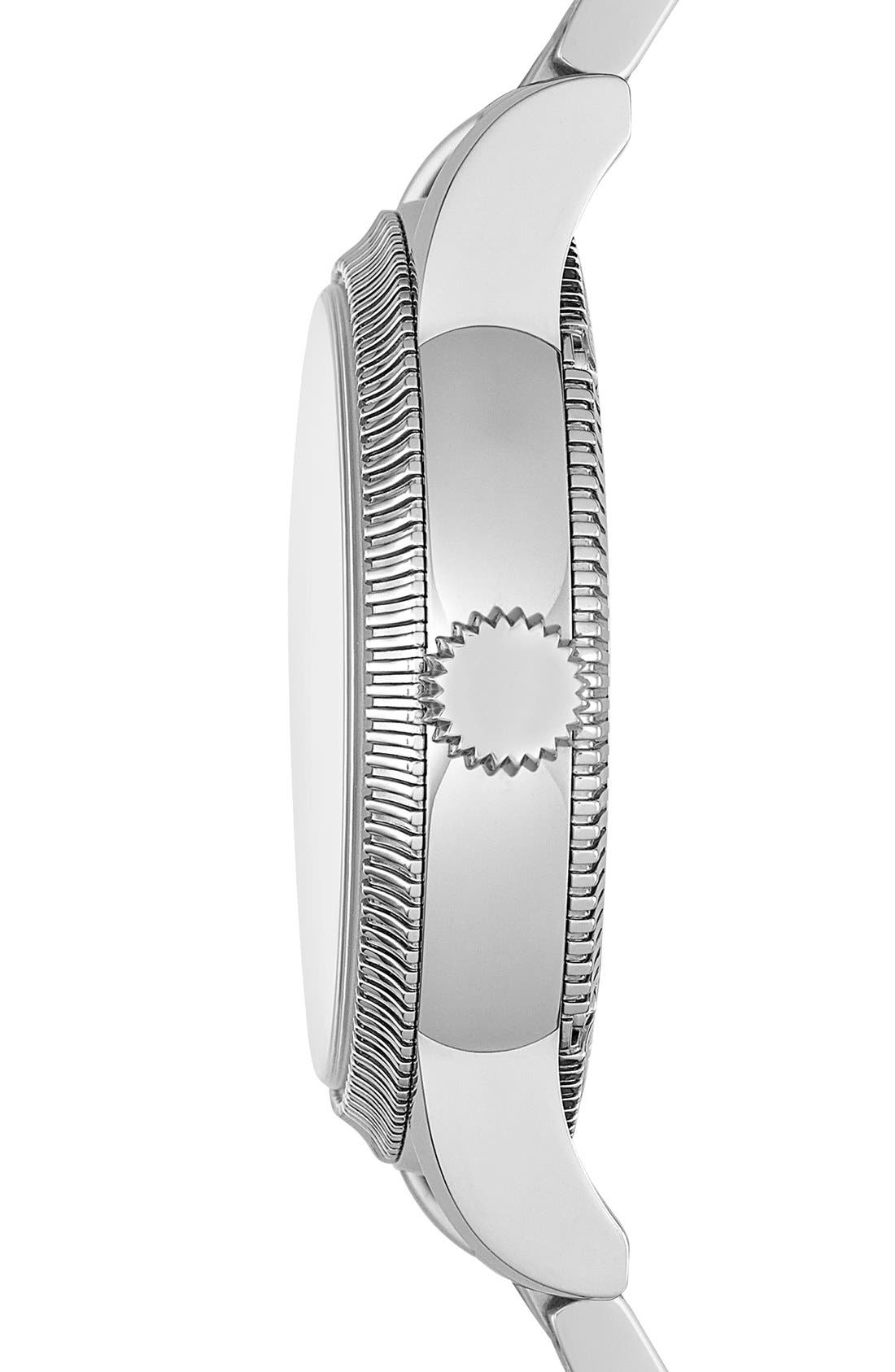 Alternate Image 3  - Burberry Round Bracelet Watch, 38mm