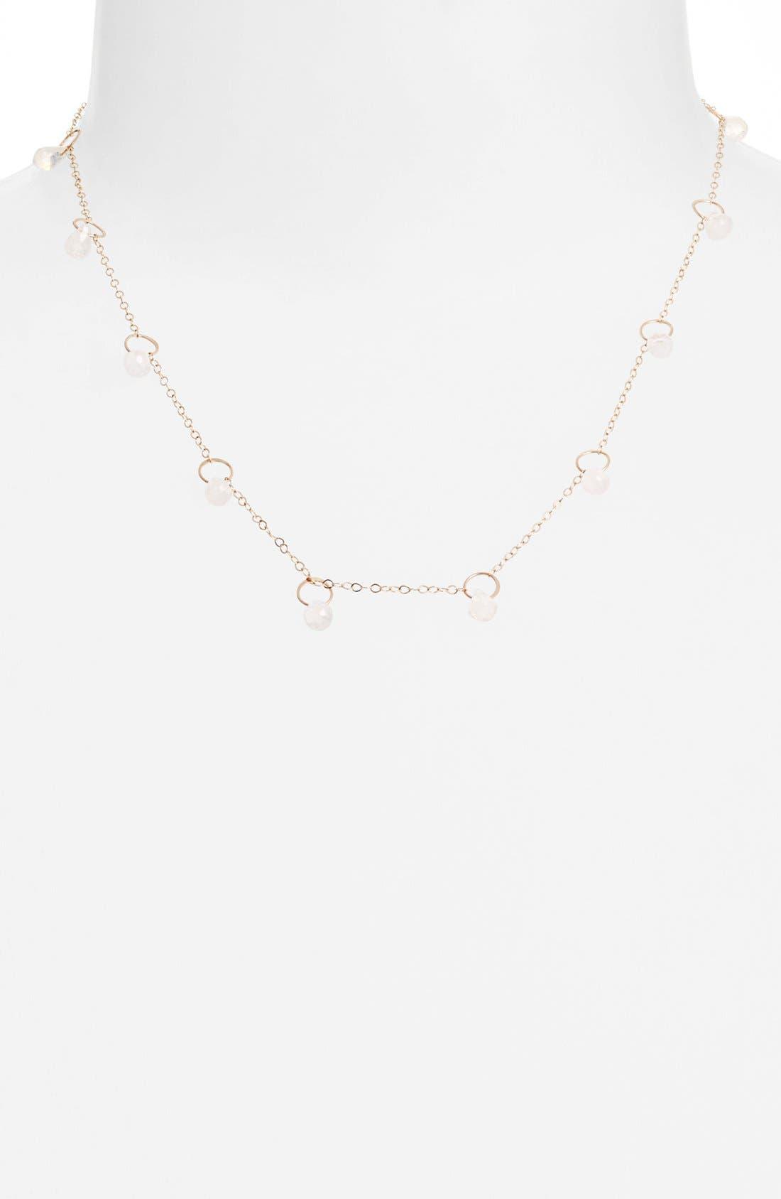 Alternate Image 1 Selected - Melissa Joy Manning Stone Station Necklace