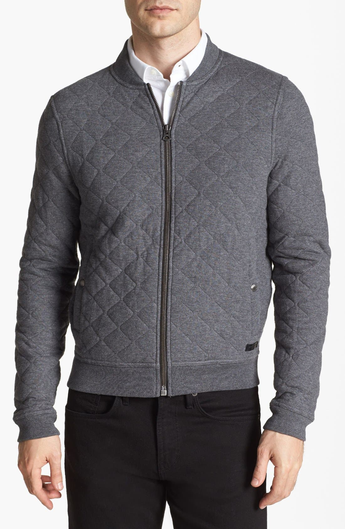 Main Image - Burberry Brit 'Marvel' Quilted Jacket